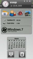 Se7en Blue Theme Mobile Theme