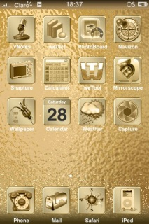 Gold Deluxe Theme Mobile Theme
