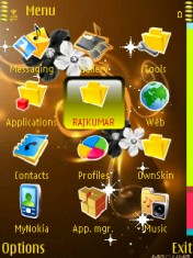 Abstract Legend Theme Mobile Theme