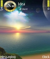 Beautiful Sunset Nokia Theme Mobile Theme