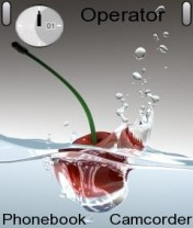 Cherry Water Nokia Theme Mobile Theme