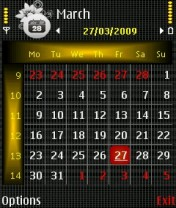 Black Grid Nokia Theme Mobile Theme