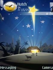 Christmas Night Nokia Theme Mobile Theme