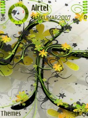 Lovely Green Nokia Theme Mobile Theme