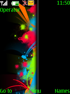 Abstract Colors Nokia Theme Mobile Theme