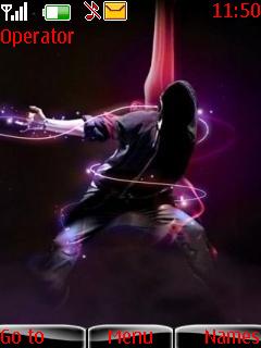 Abstract Dance Nokia Theme Mobile Theme