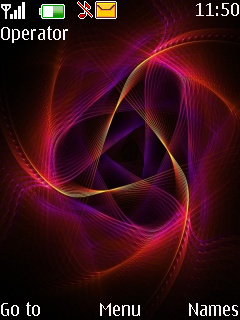 Abstract Colors Theme Mobile Theme