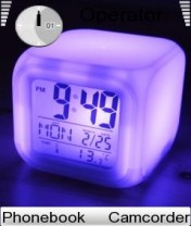 Night Clock Nokia Theme Mobile Theme