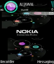 Nokia Abstract Theme  Mobile Theme
