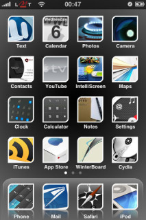 A8stract Apple IPhone Theme Mobile Theme