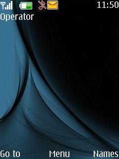 Blue Sepia Nokia S40 Theme Mobile Theme