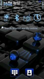 Blue Sheen Nokia Theme Mobile Theme