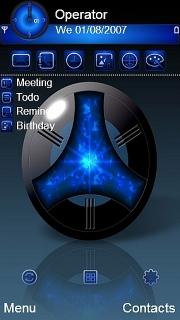 Blue Tech Nokia Theme Mobile Theme