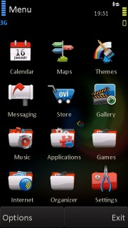 Fire Bird Beta Nokia Theme Mobile Theme