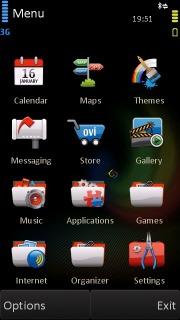 Fire Bird Beta Nokia Theme Mobile Theme