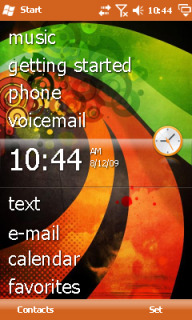 Abstract Colours Htc Theme Mobile Theme