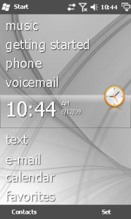 Grey Abstract Htc Theme Mobile Theme