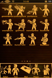 Fallout 3 Pipboy IPhone Theme Mobile Theme