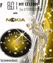 Animated Star Nokia Theme Mobile Theme