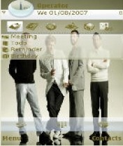 Backstreet-Boys-Nokia-Theme Mobile Theme