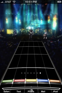 Rock Band Apple IPhone Theme Mobile Theme