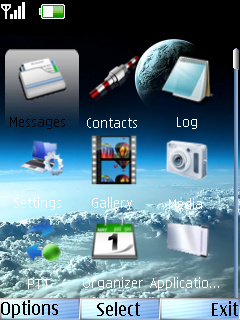 Earth Nokia Theme Mobile Theme