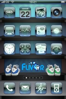 Flivor United Apple IPhone Theme Mobile Theme