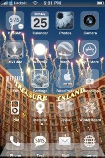 IHour Vegas Apple IPhone Theme Mobile Theme