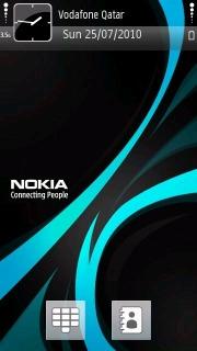 Blue Nokia Theme Mobile Theme
