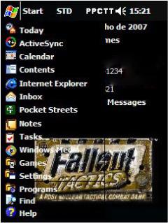 Fallout Tactics Htc Theme Mobile Theme
