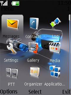 Liquid Nokia Theme Mobile Theme