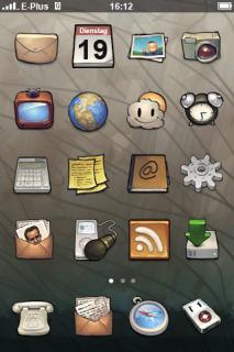 Buf Apple IPhone Theme Mobile Theme