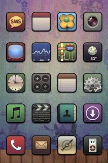 Bizz Apple IPhone Theme Mobile Theme