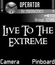 Extreme Nokia Theme Mobile Theme