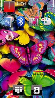 Butterfly Nokia Theme Mobile Theme
