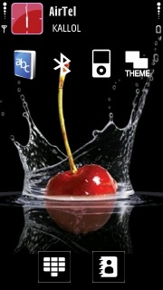 Cherry Nokia Theme Mobile Theme
