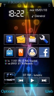 Color Pulse Nokia Theme Mobile Theme