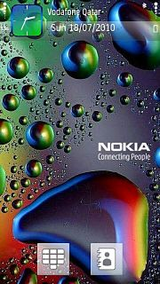 Colour Drops Nokia Theme Mobile Theme