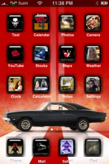 Death Proof Apple IPhone Theme Mobile Theme