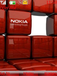 Nokia Animated Theme Mobile Theme