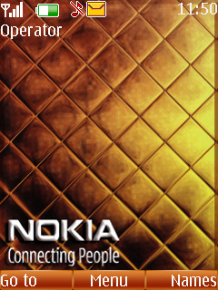 Nokia Gold Nokia Theme Mobile Theme