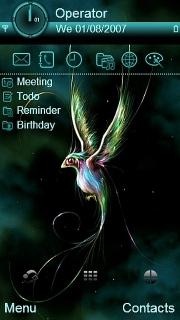 Fantasy Bird Nokia Theme Mobile Theme