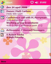 Pink Htc Theme Mobile Theme
