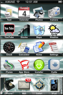 IFrost Apple IPhone Theme Mobile Theme