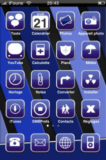 IKB Apple IPhone Theme Mobile Theme