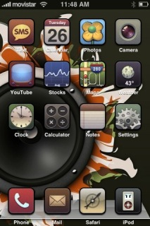 IZayco Xtrick Apple IPhone Theme Mobile Theme