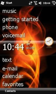 I Phone Fire Htc Theme Mobile Theme