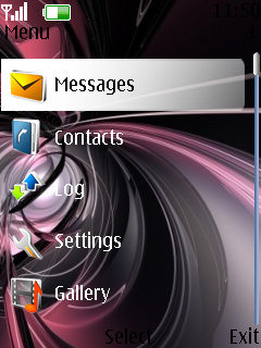Abstract Design Theme Mobile Theme