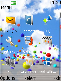 Color Full Balls Nokia Theme Mobile Theme