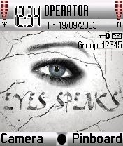 Eyes Speak Theme Mobile Theme